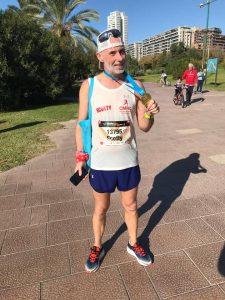 Paul at Valencia Marathon